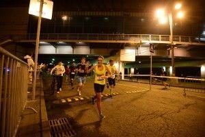 Ночной забег на 10 км в Лужниках