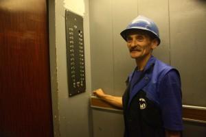 Замена лифта в сталинской высотке на Баррикадной