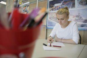 Мастер-класс по креативному письму состоится в библиотеке имени Аркадия Гайдара. Фото: Сергей Шахиджанян, «Вечерняя Москва»