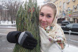 Акция «Елочный круговорот» пройдет в Москве после новогодних праздников. Фото: Антон Гердо «Вечерняя Москва»