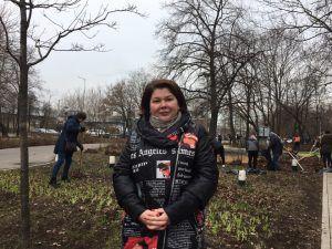 На фото исполняющий обязанности главы управы района Хамовники Екатерина Берсенева. Фото: Патимат Абдурахманова