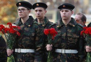 Юноши приняли участие в Дне призывника. Фото: Наталия Нечаева, «Вечерняя Москва»