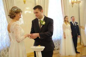 Более 470 пар заключат брак 31 декабря в московских ЗАГСах. Фото: Светлана Колоскова, «Вечерняя Москва»
