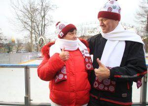 В парке «Сокольники» пройдет зимний фестиваль «Московского долголетия». Фото: Наталия Нечаева, «Вечерняя Москва»