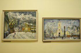 Торжественное открытие выставки состоялось в управе района. Фото: Анна Быкова