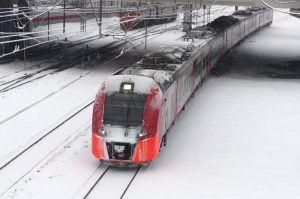 Поезда «Ласточка» перевезли более 1,7 миллиона в новогодние праздники. Фото: Антон Гердо, «Вечерняя Москва»