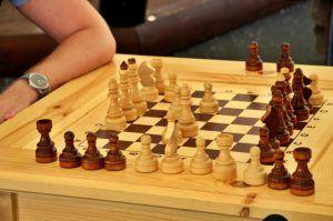 Шахматный турнир прошел в районном центре соцобслуживания. Фото: Анна Быкова