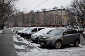 Новые платные парковки появятся на 1,2% улиц Москвы. Фото: Анна Быкова