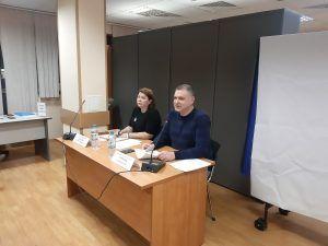 Встреча с исполняющей обязанности главы управы района Хамовники Екатериной Берсеневой состоялась 19 февраля. Фото: Екатерина Гринева