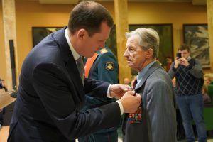 Вручение медалей и наград состоялось в музее Вооруженных сил. Фото: Денис Кондратьев
