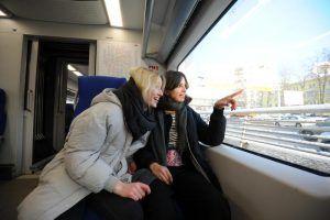 Пассажиропоток МЦК составил более 11 миллионов человек в январе 2020 года. Фото: Светлана Колоскова, «Вечерняя Москва»