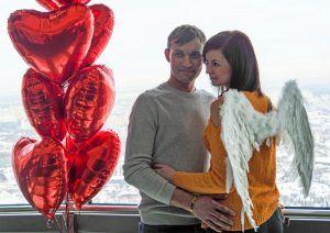 Жителей столицы пригласили на День всех влюбленных в «Лужники». Фото: Павел Волков, «Вечерняя Москва»
