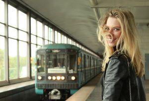 Свыше 2,3 миллионов женщин проехали на МЦК и другом общественном транспорте 8 марта. Фото: Наталия Нечаева, «Вечерняя Москва»