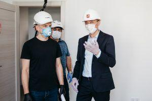 Строительство перегонного тоннеля завершили в столице.Фото предоставили представители Префектуры ЦАО
