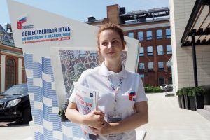 Избирательные участки Москвы начали работу в соответствии с санитарными нормами.Фото: Антон Гердо,«Вечерняя Москва»