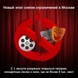 Очередной этап снятия ограничительных мер стартовал в Москве