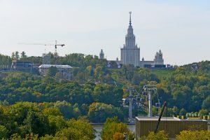 Экстрим-парк Skypark Moscow откроют на Воробьевых горах. Фото: Владимир Новиков, «Вечерняя Москва»