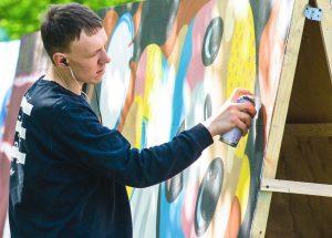 Мария Киселева: Стрит-арт может иметь цивилизованный формат и решать социальные задачи. Фото: сайт мэра Москвы