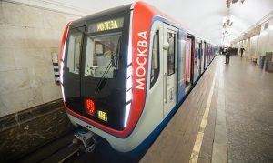 На 15% тише и USB-зарядки рядом с креслом: в Москве показали новые поезда метро. Фото: сайт мэра Москвы