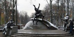 Памятник основоположникам самбо открыли в «Лужниках». Фото: сайт мэра Москвы