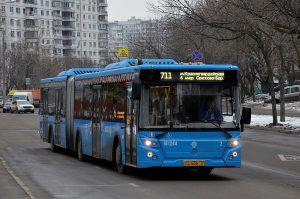 Автобусный маршрут изменят в районе. Фото: Анна Быкова