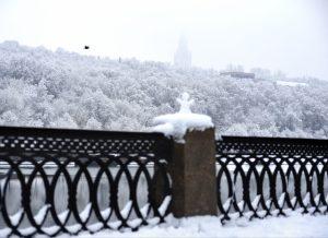 Строительство горнолыжного склона в районе планируют завершить к концу года. Фото: Александр Кожохин, «Вечерняя Москва»