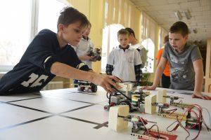Центр педагогического мастерства опубликовал новые правила олимпиады по робототехнике. Фото: Пелагия Замятина, «Вечерняя Москва»