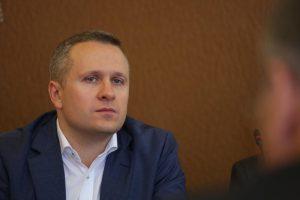 Глава управы района Максим Дерюгин
