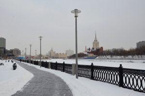 Благоустройство набережных Москвы-реки проведут в этом году. Фото: Анна Быкова