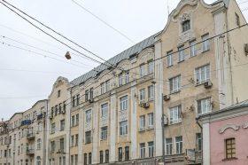 Работы по капитальному ремонту Доходного дома проведут в центре Москвы. Фото: официальный сайт мэра Москвы