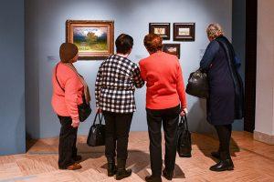 Пейзажная выставка скоро закроется в библиотеке имени Викентия Вересаева. Фото: архив, «Вечерняя Москва»