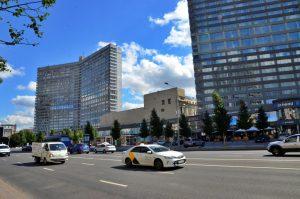 На медиафасадах столицы 9 апреля будет транслироваться запуск «Союза МС-18». Фото: архив, «Вечерняя Москва»