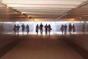 Выставку современного искусства представили в Московском метрополитене. Фото: сайт мэра Москвы
