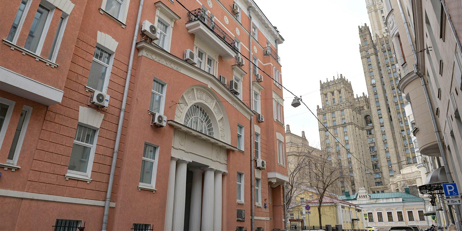 Дом с вековой историей отремонтируют в районе. Фото: сайт мэра Москвы