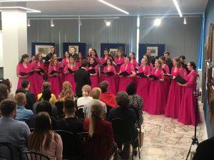 Камерный хор педагогического университета провел отчетный концерт. Фото: с сайта МПГУ