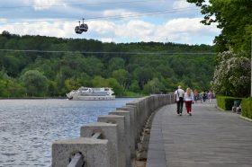 Прогулку по набережной с писательницей проведут в «Гайдаровке». Фото: Анна Быкова