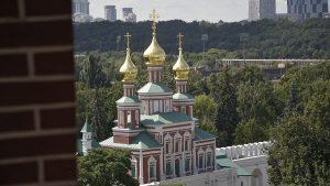 Находку времен Бориса Годунова обнаружили в Новодевичьем монастыре. Фото: Пелагия Замятина, «Вечерняя Москва»