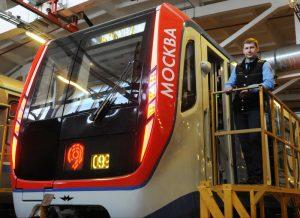 Новый тематический поезд запустили на Сокольнической линии. Фото: Александр Кожохин, «Вечерняя Москва»
