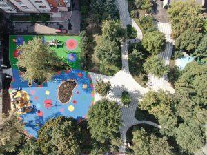 Благоустройство Михайловского сада завершилось в центре Москвы. Фото предоставили в Префектуре ЦАО
